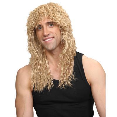 Wicked Costumes Rockstar  Slash Guitar God Guns N Roses Long Hair Wig - Blonde