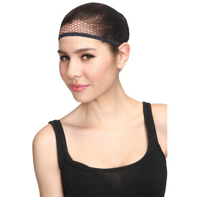 Wicked Costumes Hair Net For Hiding Hair Under Wig Costume Accessory - Black