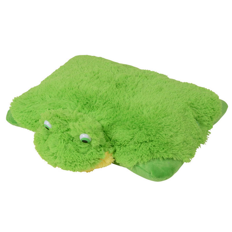 Cute Animal Pillow Soft Plush Cuddly Toy Lion Bee Frog
