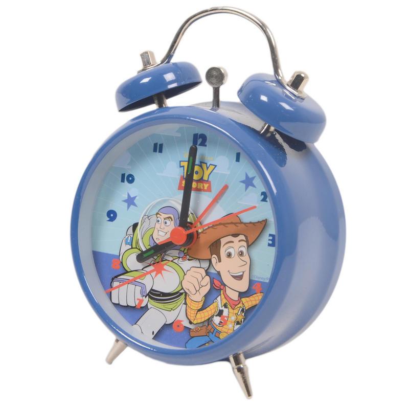 Toy Story Cowboy Woody Buzz Lightyear Cushion Alarm Clock