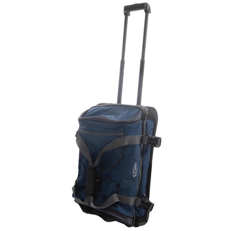 Gelert 40L Pioneer Wheeled Travel Suitcase Hand Luggage Bag ...