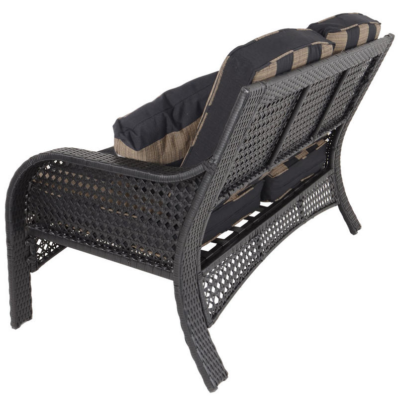 Rattan Conservatory Coffee Table: Azuma Imperial 4pc Conservatory Lounge Furniture Rattan