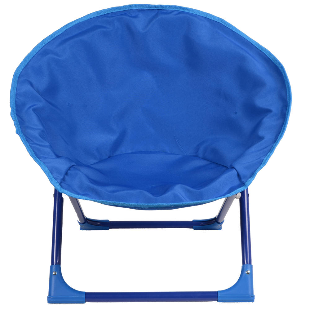 New Kids Childrens Blue Moon Chair Sear for Indoor Outdoor Use Easy Fold Away