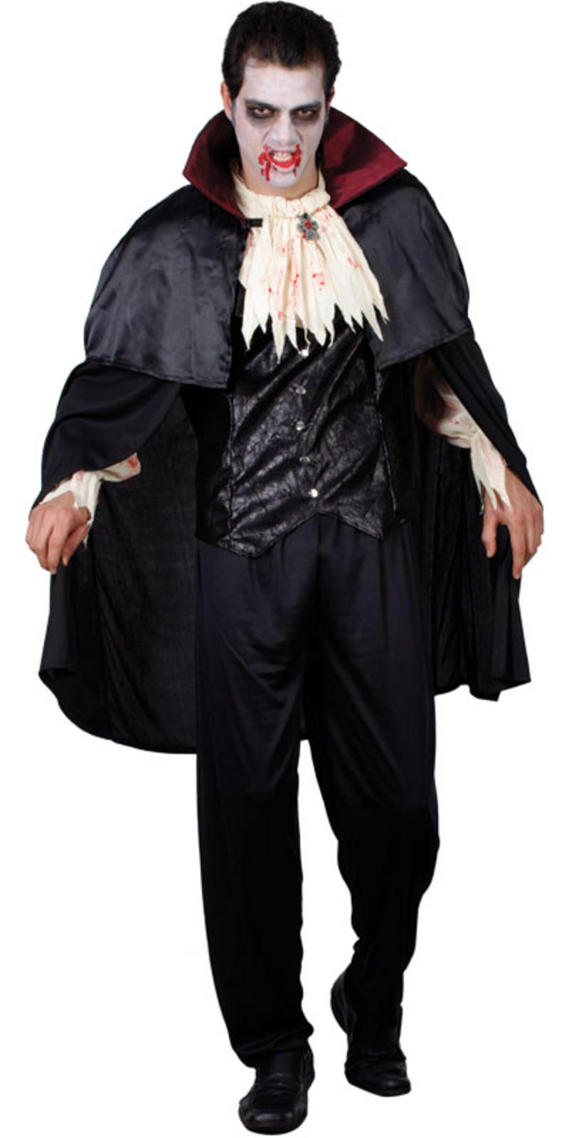 graf dracula vampir verkleidung f r m nner halloween. Black Bedroom Furniture Sets. Home Design Ideas