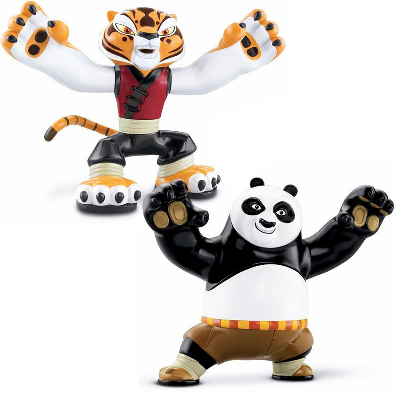 Lot of 2 Master Tigress Kung Fu Panda Mcdonalds Action