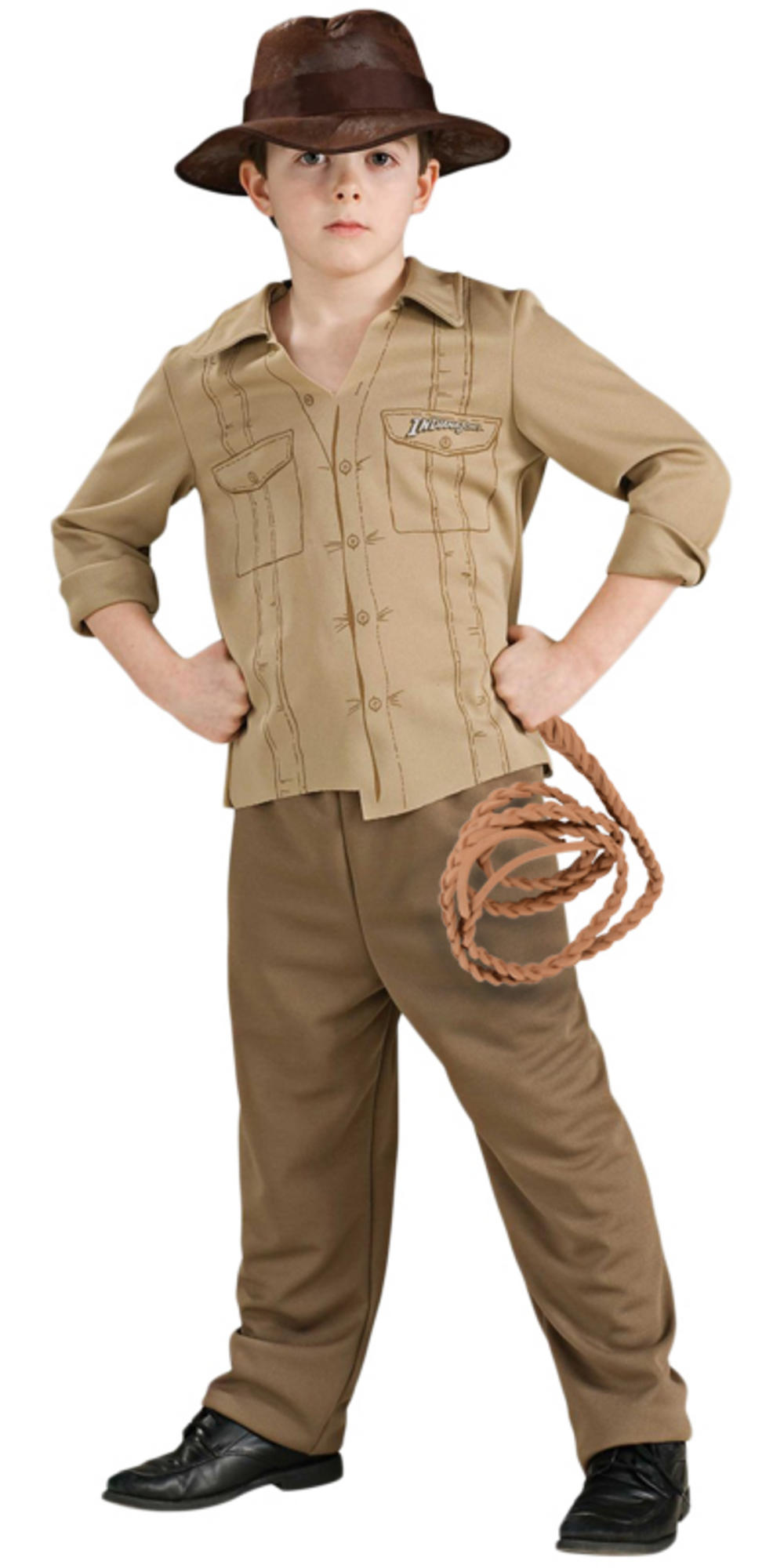 boys rubies officially licenced childrens indiana jones fancy dress costume. Black Bedroom Furniture Sets. Home Design Ideas