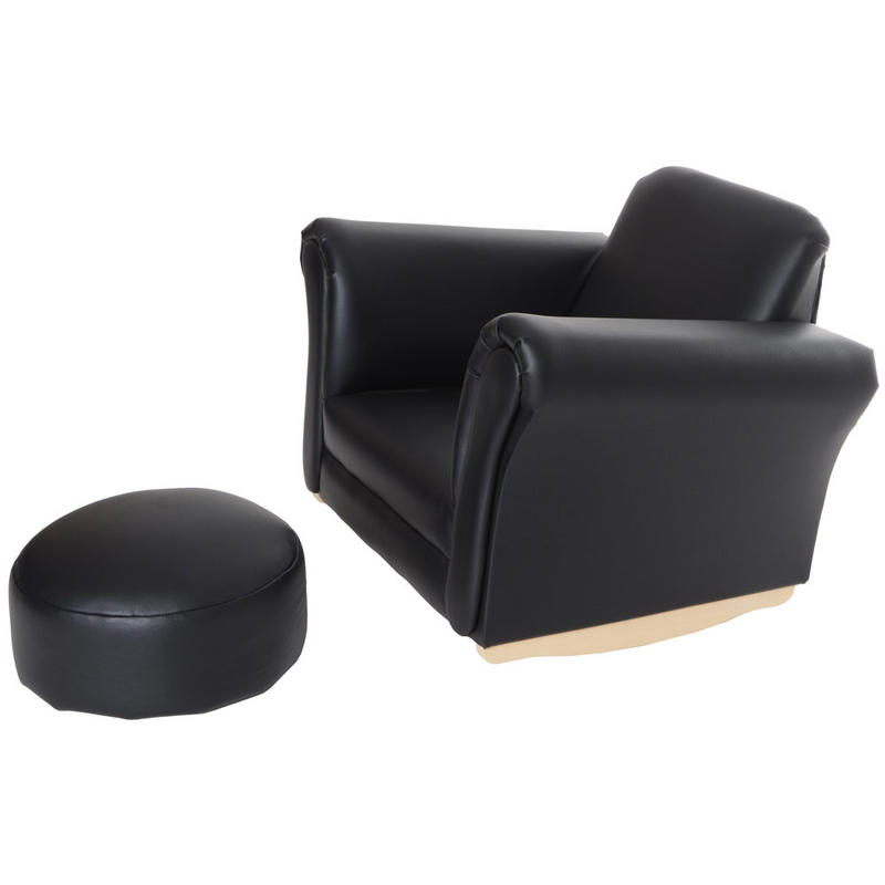 Azuma Kids Pu Leather Look Rocker Rocking Armchair Seat