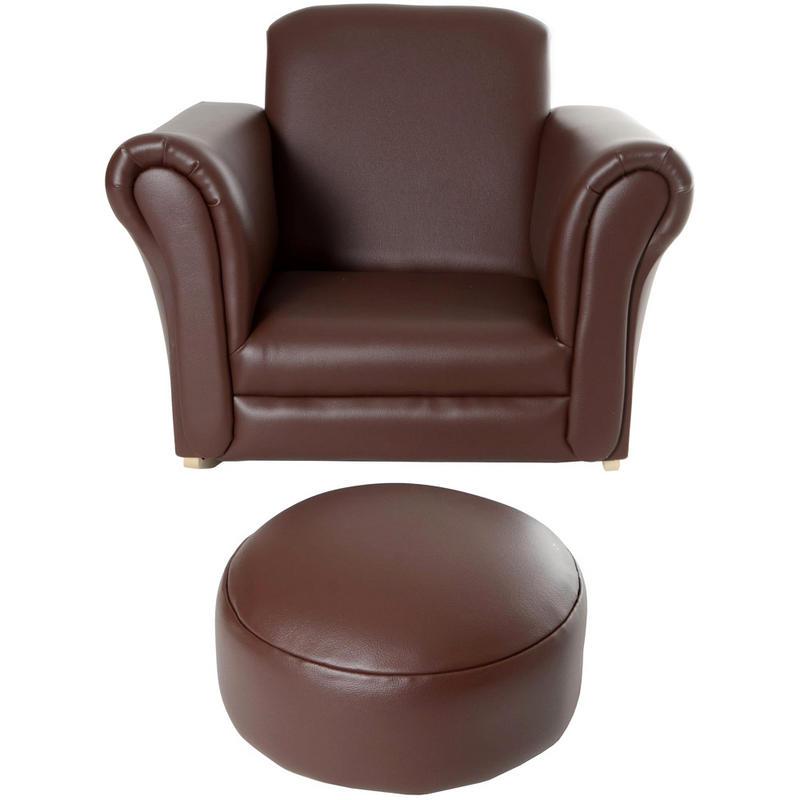 Azuma Kids PU Leather Look Rocker Rocking Armchair Seat – Childs Leather Chair