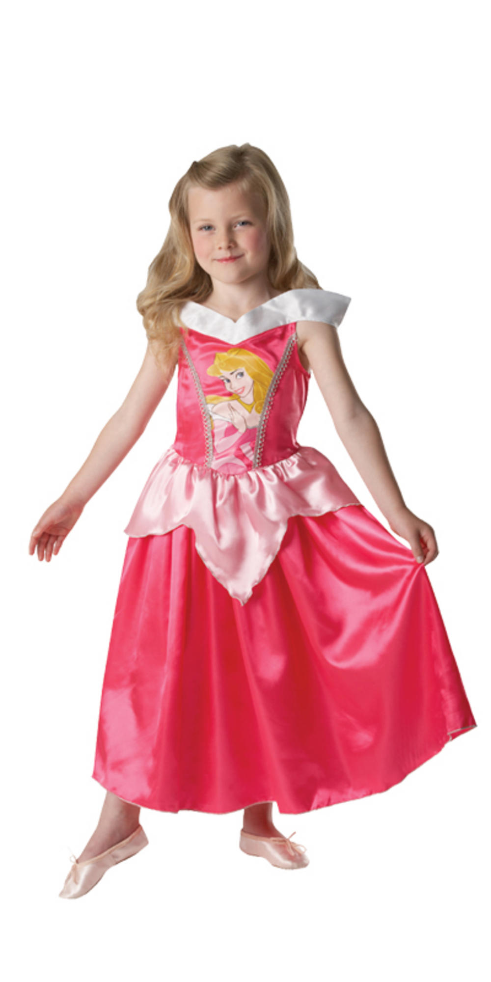 Girls Disney Princess Aurora Fancy Dress Up Party ...