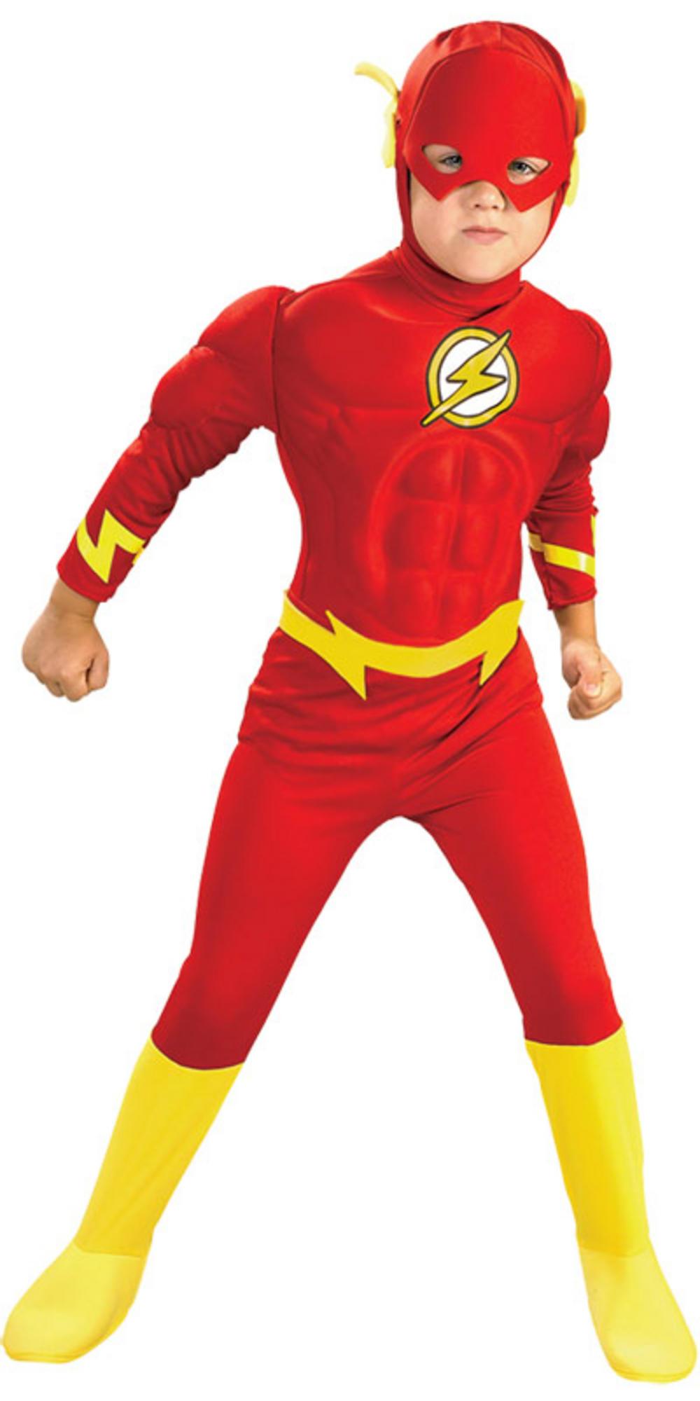 Muscle chest flash barry allen superhero boys fancy dress - Super hero flash ...