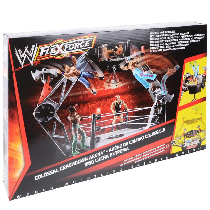 Wwe Raw Colossal Crashdown Wrestling Ring