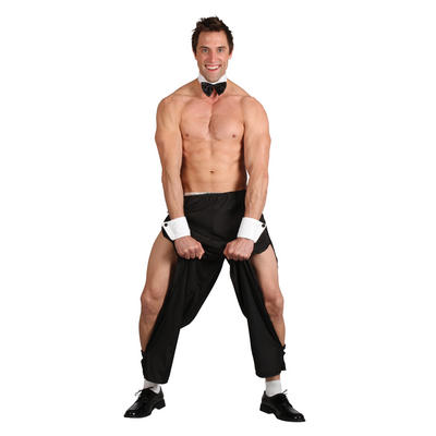 Mens Party Boy Stag Night Stripper Guy Hilarious Costume