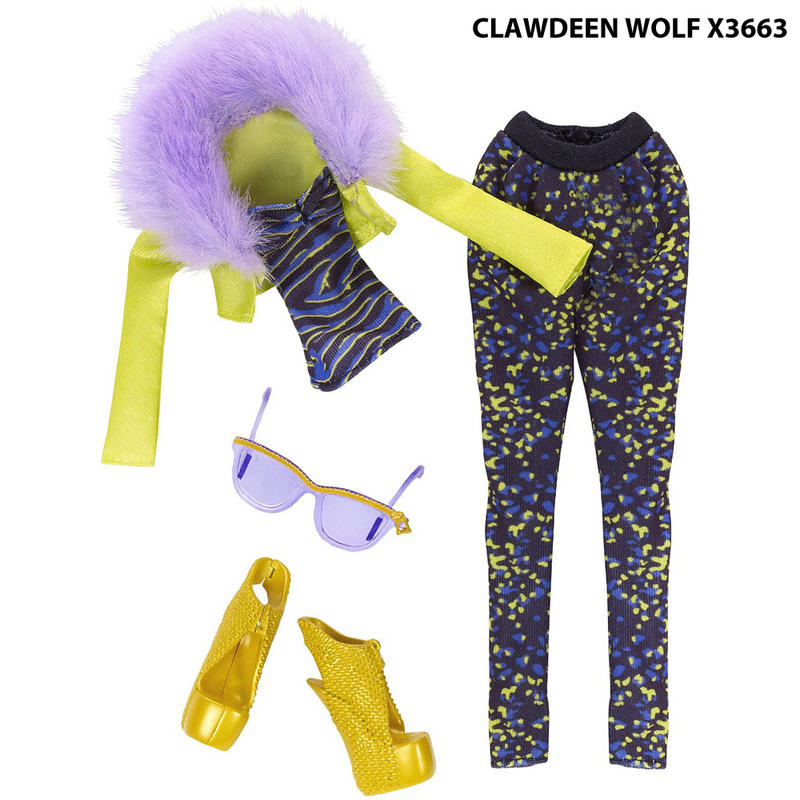 clawdeen wolf accessories