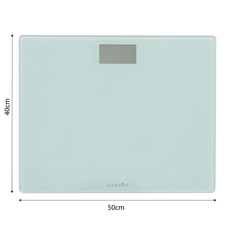 Hanson Hxl High Capacity Electronic Bathroom Body Weight Scales Weigh Upto 200kgs