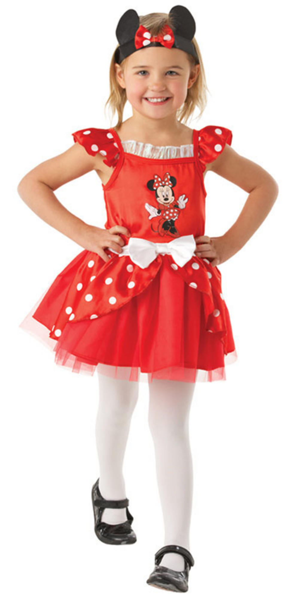 Minnie Mouse Red Costume Shoes