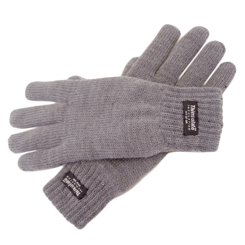 Thinsulate Heat Guard Womens Stretch Knitted Winter Gloves