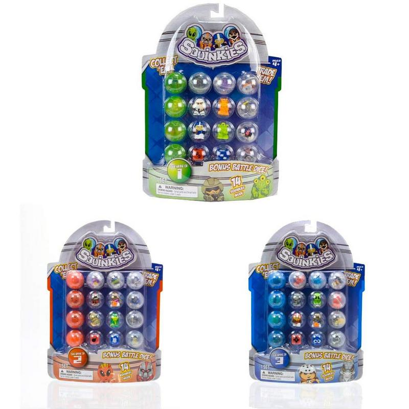 Squinkies Toys For Boys : Character options boys squinkies bubble pack pieces