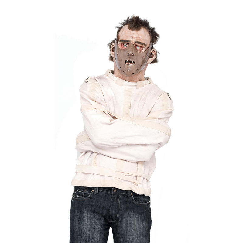 Adults Hannibal Lecter Straight Jacket Silence Lambs Fancy Dress ...