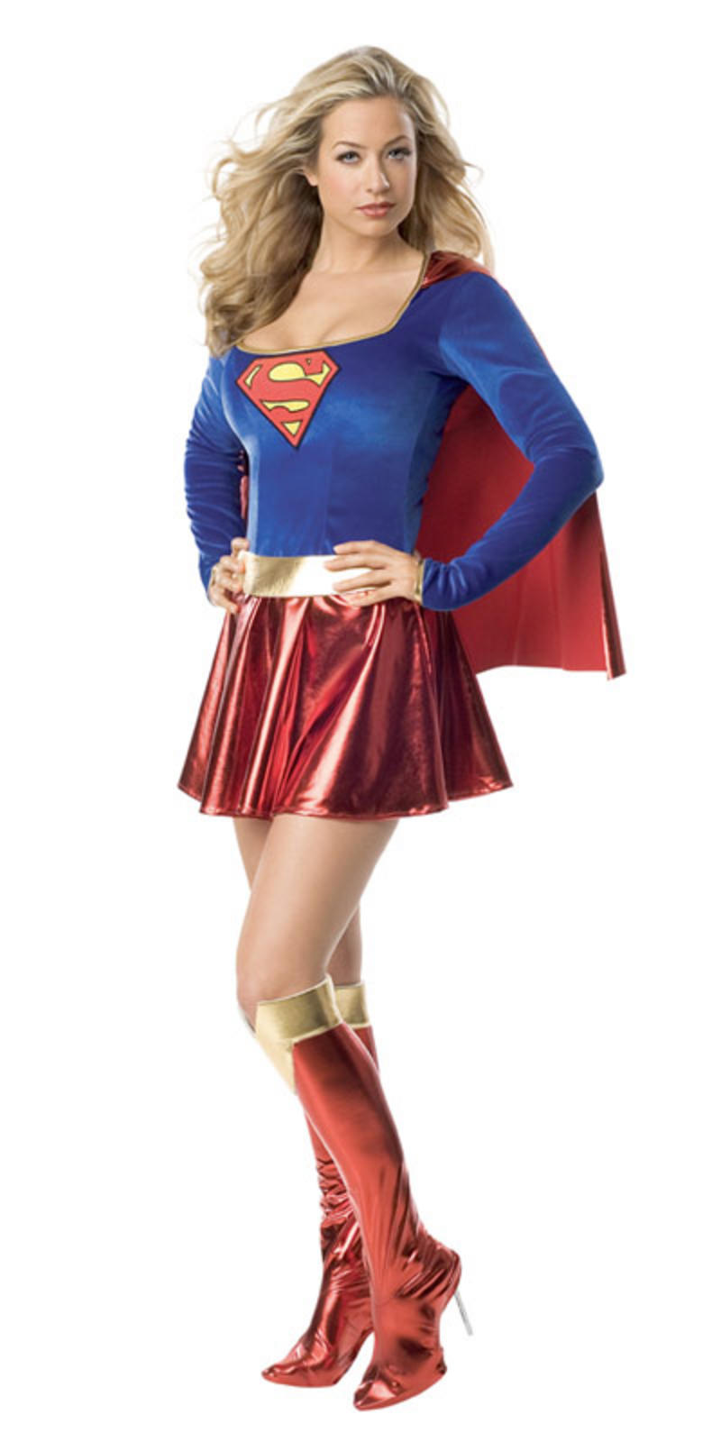 Teen Size Rubies Supergirl Very Sexy Fancy Dress Costume XS