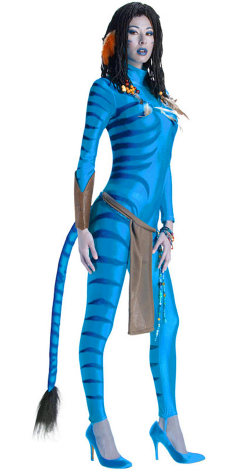 teen size neytiri avatar movie fancy dress costume xs