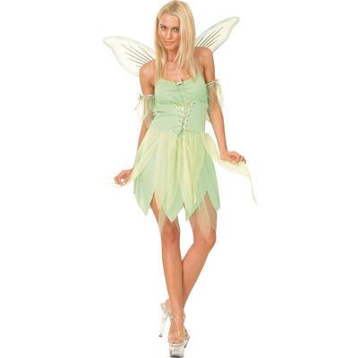 Ladies Neverland Fairy XS Teen Size Fancy Dress Halloween Costume UK6-8