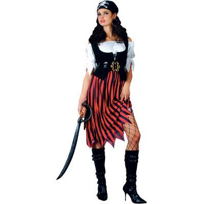 Ladies Pirate Lady XS Teen Size Fancy Dress Halloween Costume UK6-8