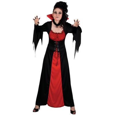 Teen Size Vampiress Vampire Fancy Dress Halloween Costume XS