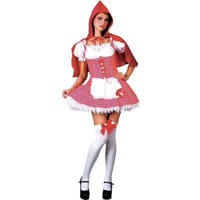 Teen Size Raunchy Red Riding Hood Teen Size Fancy Dress Costume XS