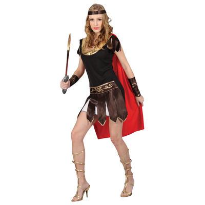 Teen Size Sexy Roman Centurian Soldier Gladiator Warrior Fancy Dress Costume - XS