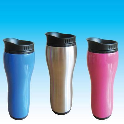 Thermal Travel Mug - New Azuma 16oz Slimline Designer Thermal Coffee Drinks Cup