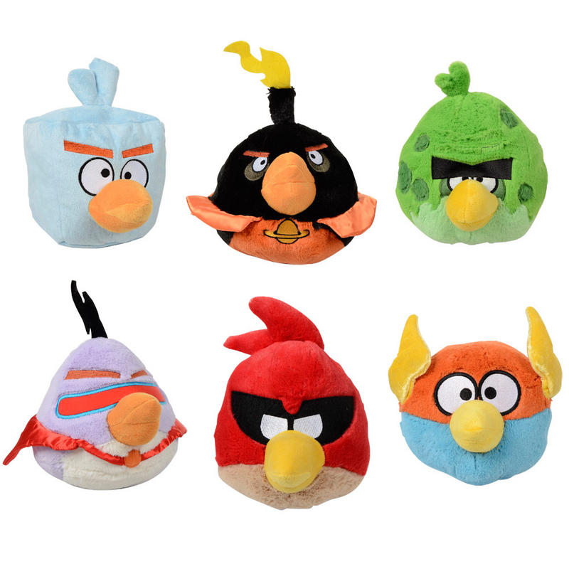 Angry Birds Space Toys : Angry birds space game novelty gift soft plush cuddly toy