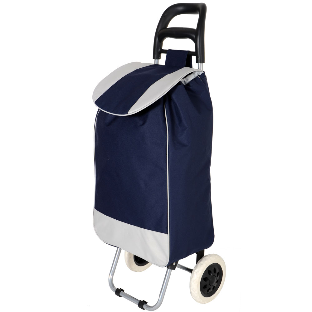 shopping trolley with wheels