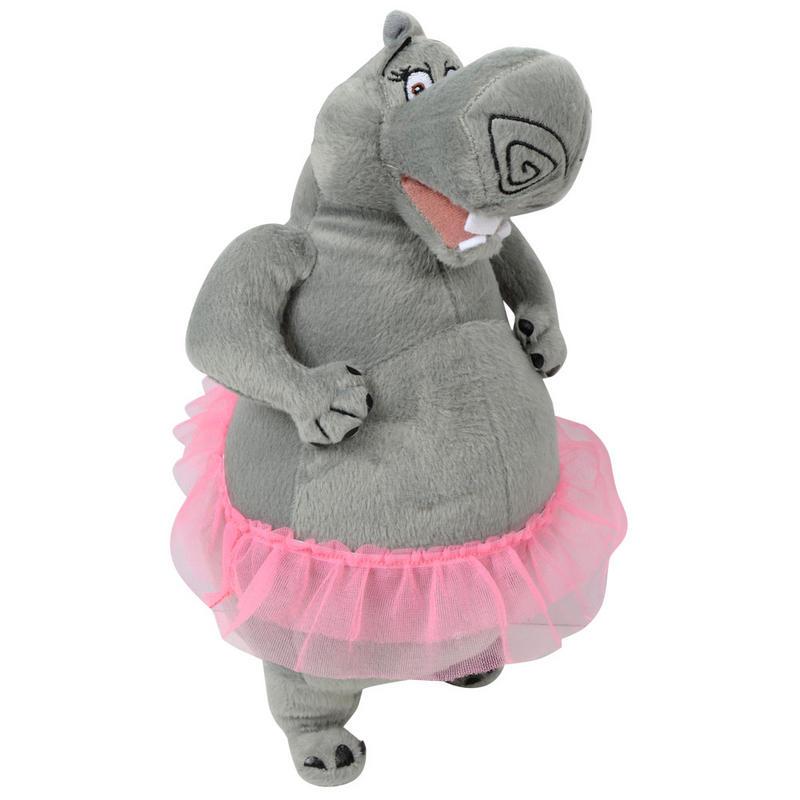 Gloria Hippo Madagascar 3 Movie Zoo Animal Soft Plush Cuddly Toy ... Zoo Animals Toys