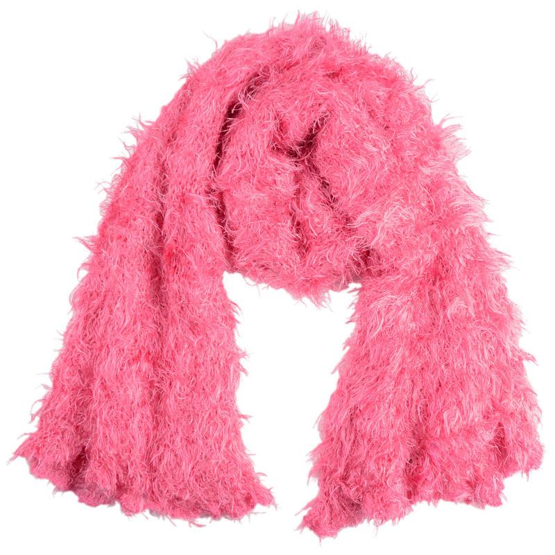 fluffy feather feel versatile scarf 120cm x 15cm