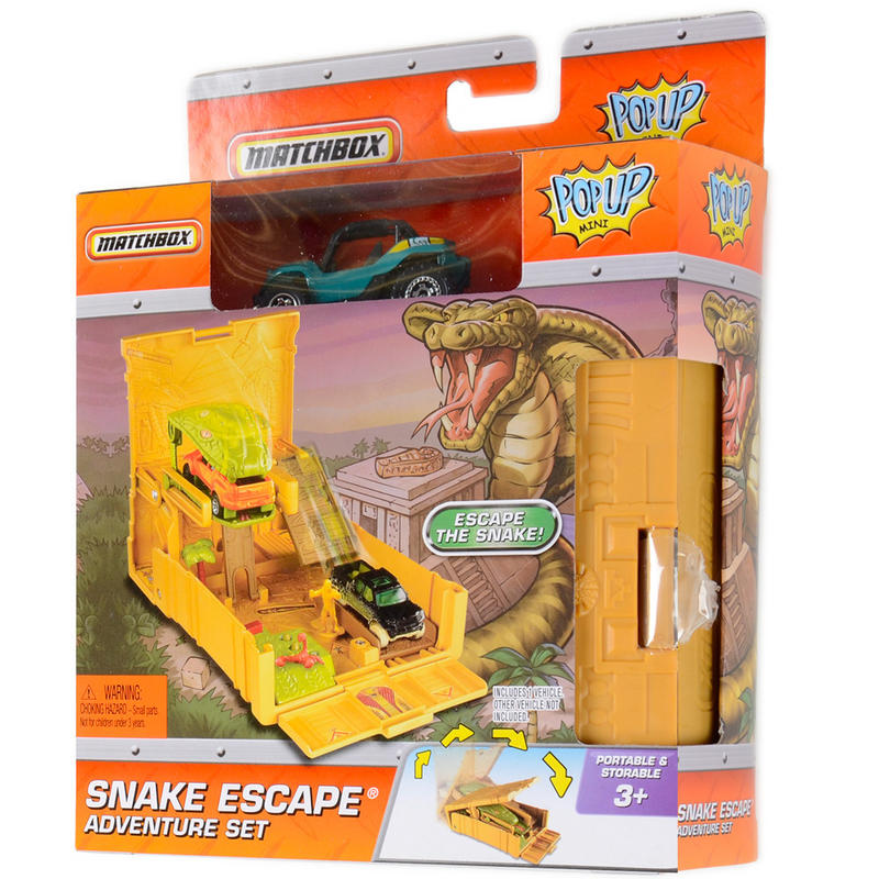 Matchbox Mini Pop Up Adventure Play Set With Vehicle