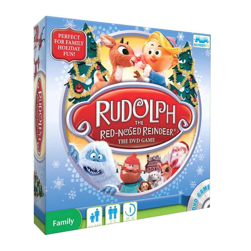 rudolph the rednosed reindeer the dvd game age 6