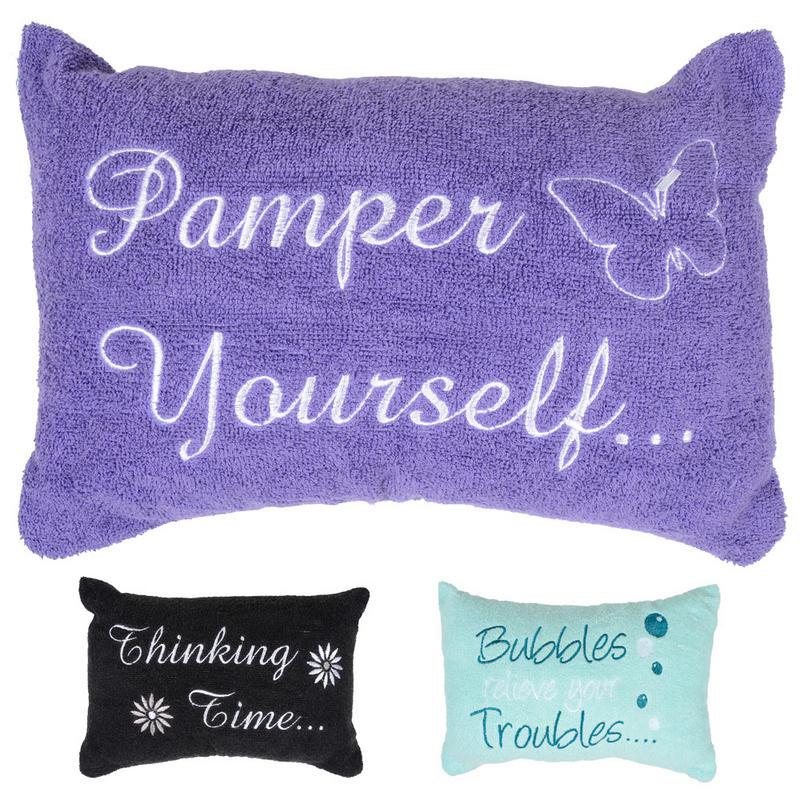 Towelling Bath Pillow - Best Pillow 2018