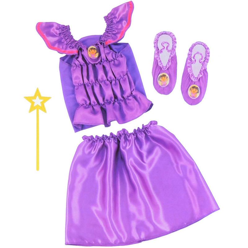 Dora Fairy Wishes Or Dance Rescue Adventure Dress Up Set