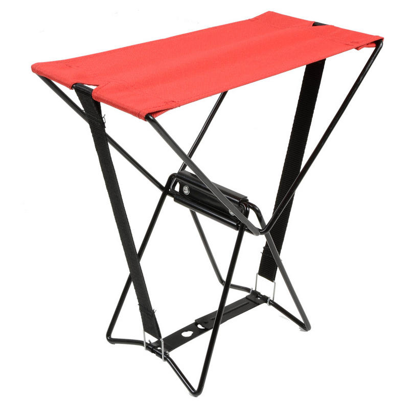 Folding Pocket Chair Seat Stool With Carry Bag For Camping