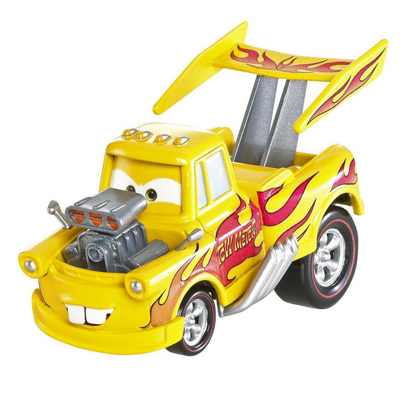 disney pixar cars 2 deluxe die cast movie character vehicle funny car mater - Cars The Movie 2 Characters