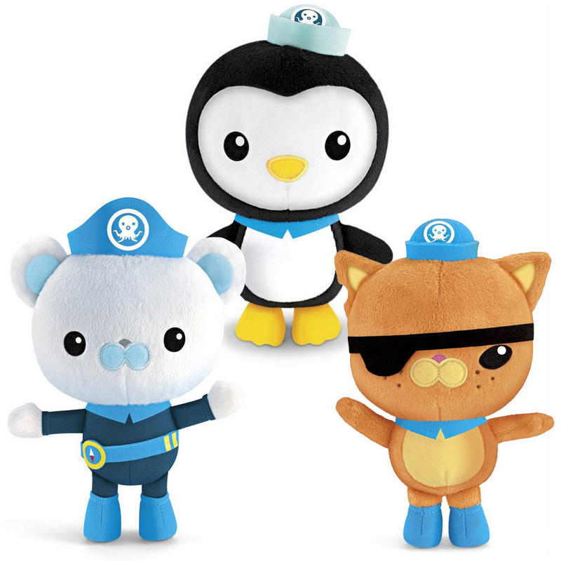 Soft Toys Cartoon : Fisher price octonauts soft plush cuddly stuffed animal tv