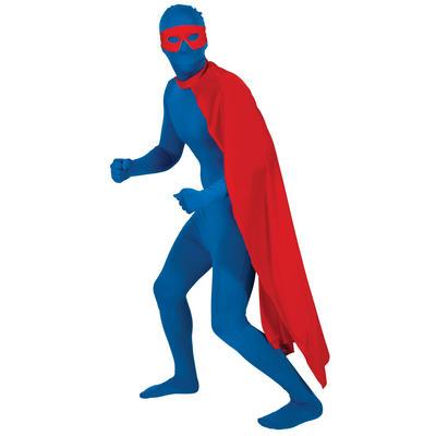 Red Superhero Cape Halloween Fancy Dress Accessory