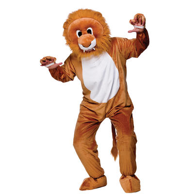 Leo The Lion Full Body Animal Mascot Charity & Sports Events Costume - Brown