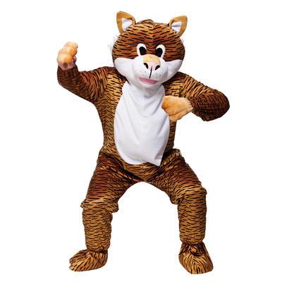 Orange Safari Tiger Full Body Mascot Charity Sports Events Fancy Dress Costume