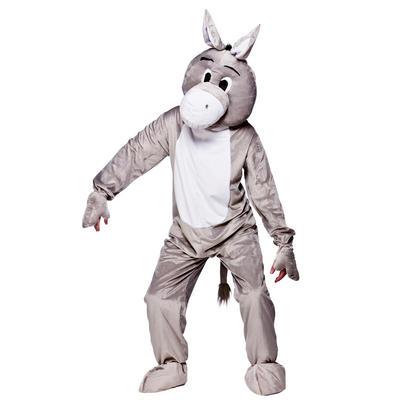 Grey Donkey Full Body Mascot Charity & Sports Events Fancy Dress Costume