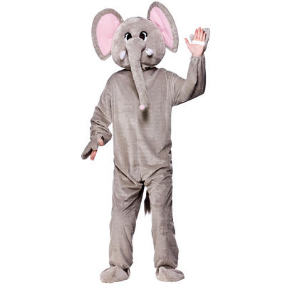 Paradise Elephant Full Body Mascot Charity & Fancy Dress Costume