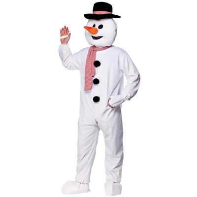 Snowman Full Body Mascot Charity and Sports Events Fancy Dress Costume