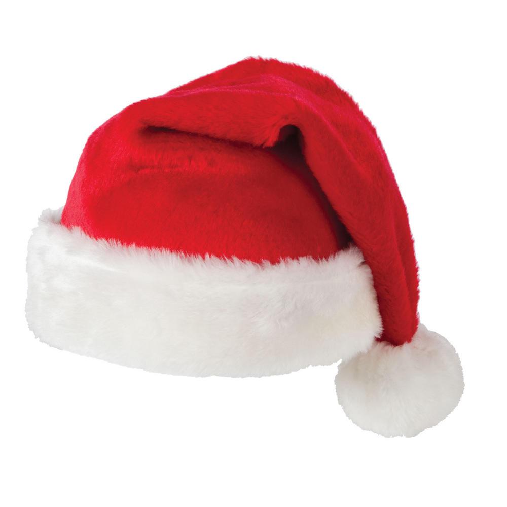 Super deluxe santa hat fancy dress christmas up