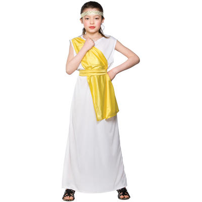 Girls Ancient Greek Historical Fancy Dress Costume