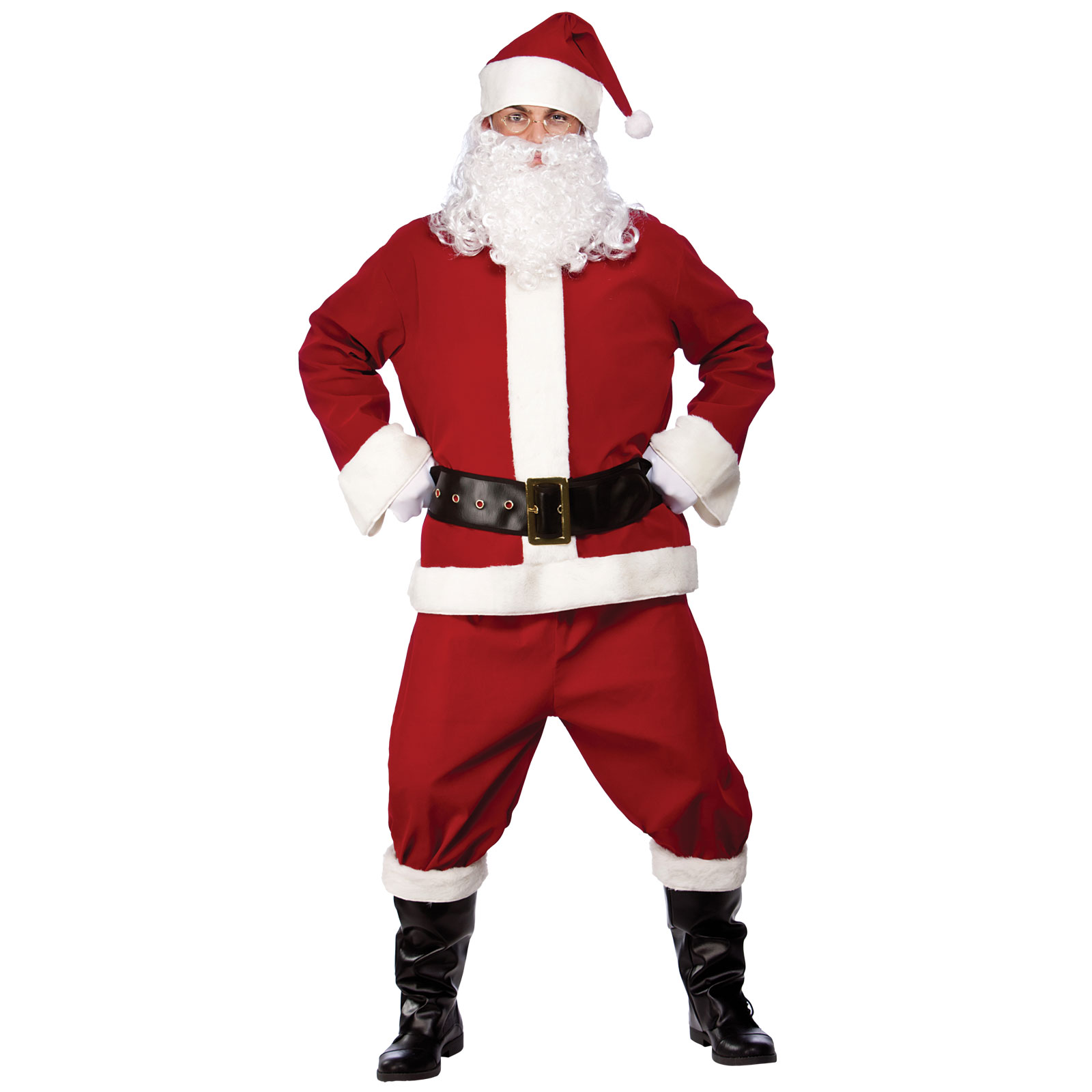 Christmas dress up - Professional Santa Suit Fancy Dress Christmas Dress Up Festive Costume Outfit Christmas Xs Party